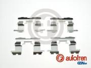 Монтажный комплект тормозных колодок AUTOFREN D42878A