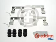 Монтажный комплект тормозных колодок AUTOFREN D42889A