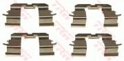 Монтажный комплект тормозных колодок TRW PFK422
