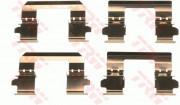Монтажный комплект тормозных колодок TRW PFK578