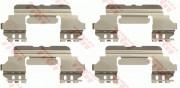 Монтажный комплект тормозных колодок TRW PFK691