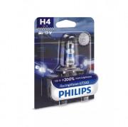 Лампа галогенная Philips RacingVision GT200 12342RGTB1 +200% (H4)