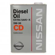 Оригинальное моторное масло Nissan Diesel Extra Save-X 5W-30 CD (KLBD005304)