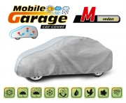 Тент для автомобиля Kegel Mobile Garage M Sedan (серый цвет)