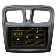 Штатная магнитола Incar DTA-1403 DSP для Renault Logan 2013-2018, Sandero 2012-2018 (Android 10)