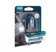 Лампа галогенна Philips X-treme Vision Pro 150 12342XVPB1 +150% (H4)