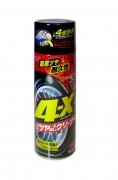 Очиститель-полироль + антистатик для шин и бамперов Soft99 4-Х Tire Cleaner 02060