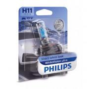 Лампа галогенная Philips WhiteVision ultra 12362WVUB1 (H11)