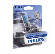 Лампа галогенная Philips WhiteVision ultra 9005WVUB1 (HB3)