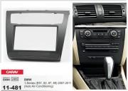 Переходная рамка Carav 11-481 BMW 1-Series (E81, 82, 87, 88) 2007-2011 (Auto Air-Conditioning), 2 DIN