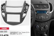 Переходная рамка Carav 11-476 Chevrolet Trax, Tracker 2013+ / Holden Trax 2013+, 2 DIN