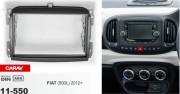 Переходная рамка Carav 11-550 Fiat (500L) 2012+, 2 DIN