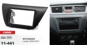 Переходная рамка Carav 11-441 Mitsubishi Lancer IX 2000-2010, 2 DIN