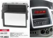 Переходная рамка Carav 11-463 Nissan Primastar 2011+ / Opel Vivaro 2010+ / Renault Trafic II 2011+ (без компьютера), 2 DIN
