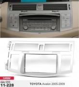 Переходная рамка Carav 11-228 Toyota Avalon 2005-2009, 2 DIN