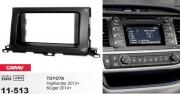 Переходная рамка Carav 11-513 Toyota Highlander 2013+, Kluger 2014+, 2 DIN