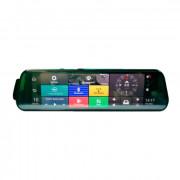 Зеркало заднего вида с монитором, видеорегистратором, GPS, 4G, Wi-Fi, Bluetooth, системой ADAS и камерой заднего вида Prime-X 110C Android +4G
