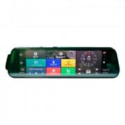 Штатное зеркало заднего вида с монитором, видеорегистратором, GPS, 4G, Wi-Fi, Bluetooth, системой ADAS и камерой заднего вида Prime-X 110 Android +4G