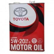 Оригинальное моторное масло Toyota Motor Oil 5w-20 (00279-1QT20, 08880-10605)
