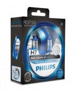 Комплект галогенных ламп Philips ColorVision PS 12972CVPBS2 (H7), голубой цвет