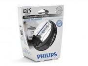 Philips Ксеноновая лампа Philips Xenon WhiteVision D2S 85122WHVS1 35Вт 5000K