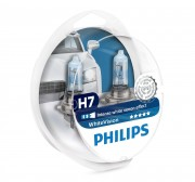 Комплект галогенных ламп Philips WhiteVision PS 12972WHVSM (H7)
