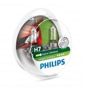 Комплект галогенных ламп Philips LongLife EcoVision PS 12972LLECOS2 (H7)