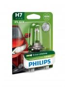 Philips Лампа галогенная Philips LongLife EcoVision PS 12972LLECOB1 (H7)