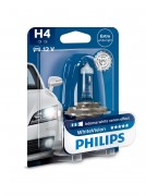Philips Лампа галогенная Philips WhiteVision PS 12342WHVB1 (H4)