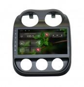Штатная магнитола RedPower 21316B для Jeep Compass 2006+ на базе OS Android 4.2.2