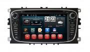 Штатная магнитола RedPower 21003 для Ford Focus, Mondeo, S-Max, Galaxy, C-Max на базе OS Android 4.4.2