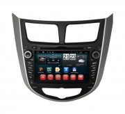 Штатная магнитола RedPower 18067 для Hyundai Accent RB, HB на базе OS Android 4.2.2