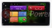 Штатная магнитола RedPower 21239B для Mitsubishi Outlander, Lancer, ASX, L200, Pajero 4, Sport на базе OS Android 6+