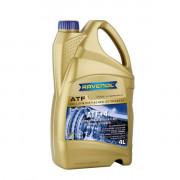 Синтетическое трансмиссионное масло для АКПП Ravenol ATF+4 Fluid