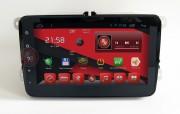 Штатная магнитола RedPower 18004B для Volkswagen Polo, Scirocco, Golf, Jetta, Passat, CC, Tiguan, Caddy на базе OS Android 4.2.2