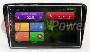 Штатная магнитола RedPower 21007B для Skoda Octavia A7 2014+ на базе OS Android 4.4.2