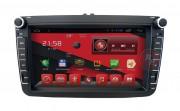 Штатная магнитола RedPower 21004WD для Seat Leon, Toledo, Altea 2005-2012 на базе OS Android 4.4.2