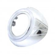 Маска для би-ксеноновых линз Ocular с ангельскими глазками 2.5` (65мм)