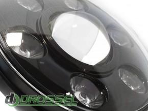 Би-светодиодные LED фары 7'' (ближний / дальний свет + DRL)_4