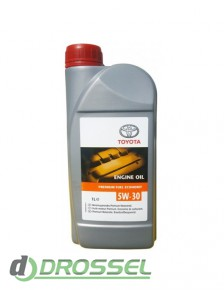 Оригинальное моторное масло Toyota Premium Fuel Economy 5W-30 (0