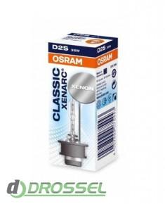 Ксеноновая лампа Osram D2S Xenarc Classic 66240CLC