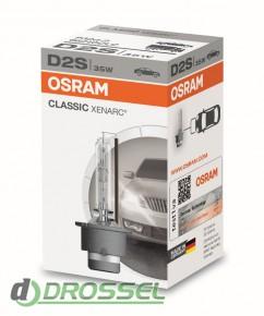 Osram D2S Xenarc Classic 66240CLC