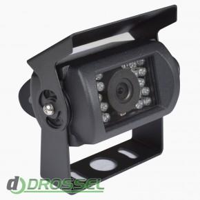 Камера заднего вида Prime-X N-001 (с защитной шторкой)