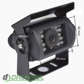 Камера заднего вида Prime-X N-001 (с защитной шторкой)_6