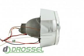 Маска для биксеноновых линз BMW F-Style silver (DRL + габарит)_4