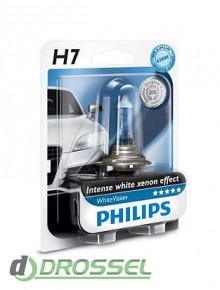 Лампа галогенная Philips WhiteVision PS 12972WHVB1 (H7)