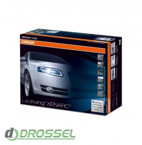 Фары головного света Osram LED HL 101 для Audi A4 B7