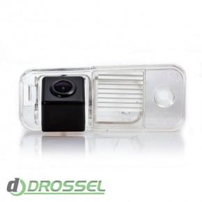 Камера заднего вида Fighter CS-CCD+FM-03 для Hyundai Santa Fe, G