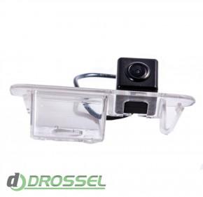 Камера заднего вида Fighter CS-HCCD+FM-10 для Kia Rio