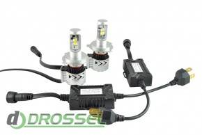 Zax Led Headlight Cree G8 H4_5